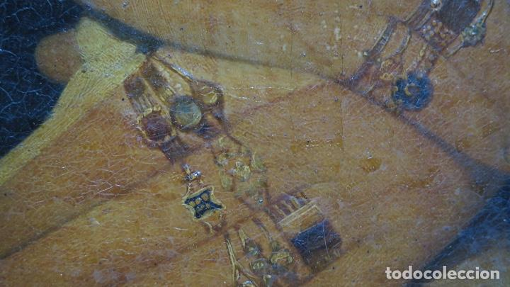 Arte: RETRATO DE MUJER CON JOYAS. OLEO SOBRE LIEZO. HACIA 1840. ESCUELA ESPAÑOLA - Foto 4 - 148283946