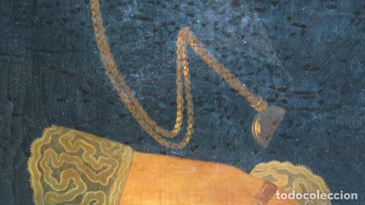 Arte: RETRATO DE MUJER CON JOYAS. OLEO SOBRE LIEZO. HACIA 1840. ESCUELA ESPAÑOLA - Foto 6 - 148283946
