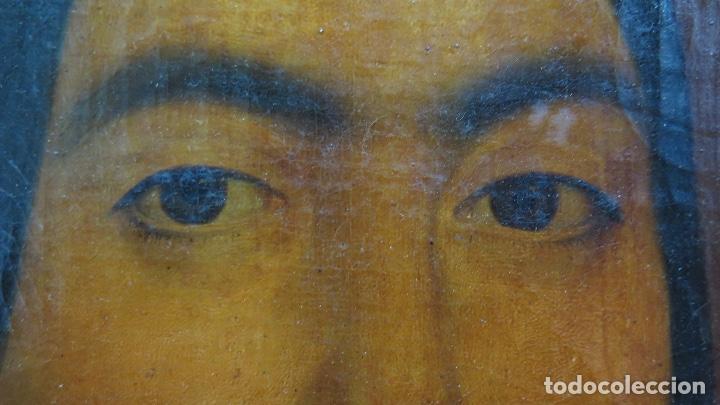 Arte: RETRATO DE MUJER CON JOYAS. OLEO SOBRE LIEZO. HACIA 1840. ESCUELA ESPAÑOLA - Foto 12 - 148283946