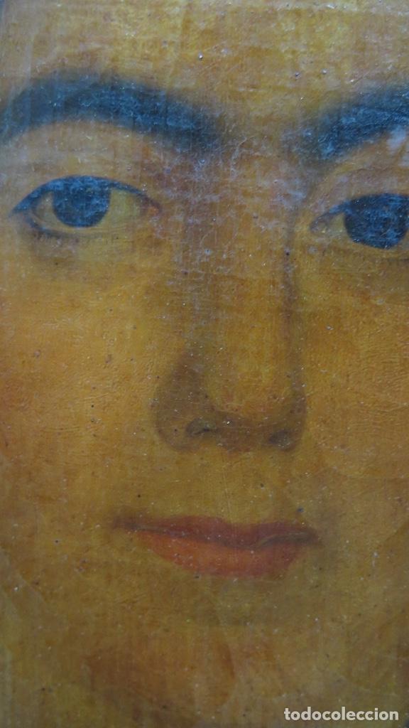 Arte: RETRATO DE MUJER CON JOYAS. OLEO SOBRE LIEZO. HACIA 1840. ESCUELA ESPAÑOLA - Foto 13 - 148283946