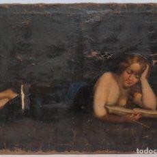 Arte: BONITA MAGDALENA. OLEO S/ LIENZO. SIGLO XVIII. Lote 148284558