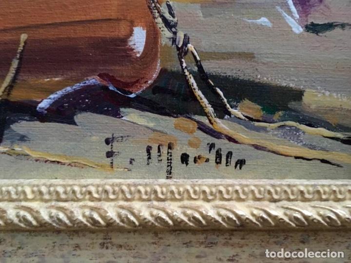 Arte: Óleo con temática Marina del pintor y acuarelista FRANCISCO LOZANO MORILLO. - Foto 6 - 148318082