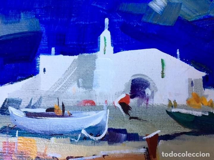 Arte: Óleo con temática Marina del pintor y acuarelista FRANCISCO LOZANO MORILLO. - Foto 8 - 148318082