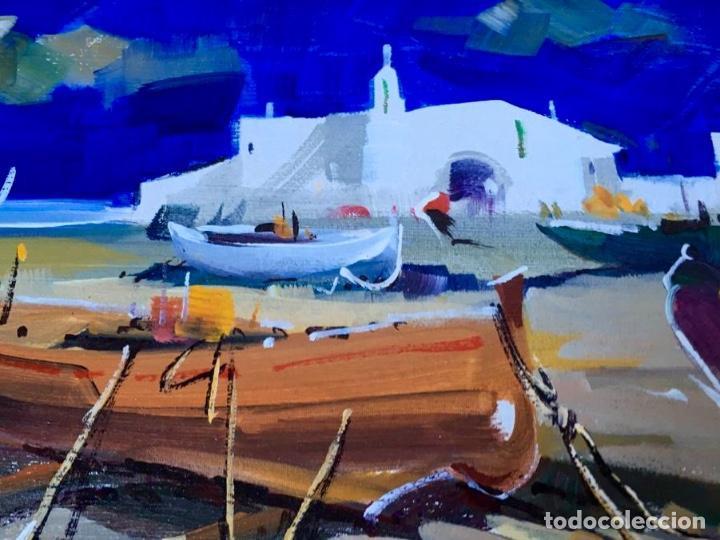 Arte: Óleo con temática Marina del pintor y acuarelista FRANCISCO LOZANO MORILLO. - Foto 9 - 148318082