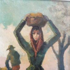 Arte: ÓLEO SOBRE TABLEX. SIN FIRMAR. A DOS CARAS.. Lote 148416570