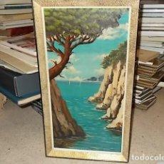 Arte: MARAVILLOSO ÓLEO DE LA COSTA MALLORQUINA DEL PINTOR MALLORQUÍN J. PARERA. 60 X 30 CM. UNA JOYA!!!!. Lote 148530786