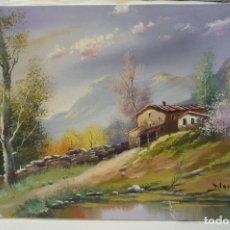 Arte: PINTURA AL OLEO PINTOR MORELLA. Lote 148553978