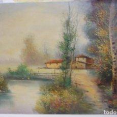 Arte: PINTURA AL OLEO PINTOR MORELLA. Lote 148554022