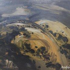 Arte: ALEJANDRO GONZÁLEZ PASCUAL. ( A CORUÑA, 1930 - 1993 ) MONTES DE LAMAS.. Lote 148560970