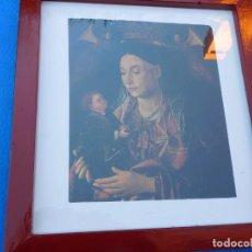 Arte: PINTURA RENACENTISTA ITALIANA SOBRE TABLA, 37 X 31 CM PASPARTÚ Y TRASERA CHAPA MADERA. Lote 148703002