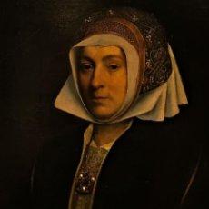 Arte: IMPRESIONANTE ÓLEO SOBRE TABLA DEL SIGLO XVI. INGLÉS Ó FLAMENCO. Lote 148861658