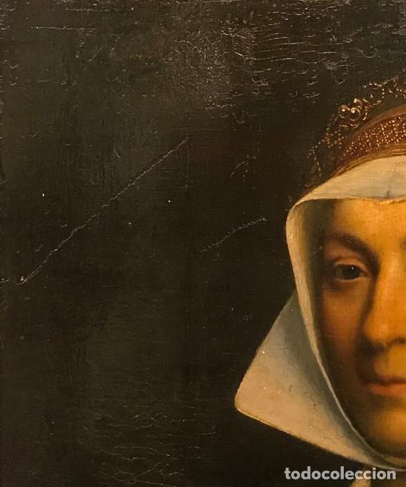 Arte: Impresionante óleo sobre tabla del siglo XVI. Inglés ó flamenco - Foto 4 - 148861658