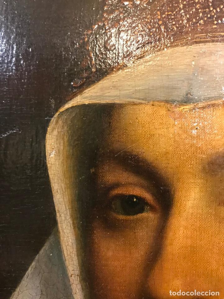 Arte: Impresionante óleo sobre tabla del siglo XVI. Inglés ó flamenco - Foto 6 - 148861658