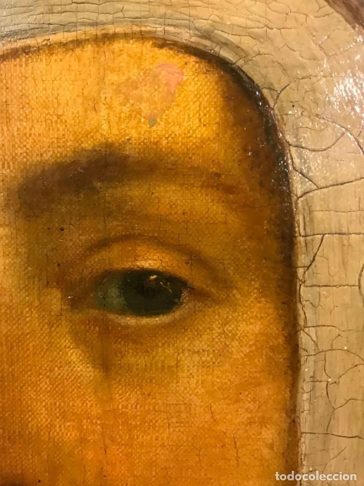Arte: Impresionante óleo sobre tabla del siglo XVI. Inglés ó flamenco - Foto 7 - 148861658