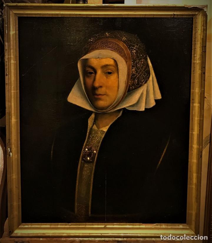 Arte: Impresionante óleo sobre tabla del siglo XVI. Inglés ó flamenco - Foto 8 - 148861658