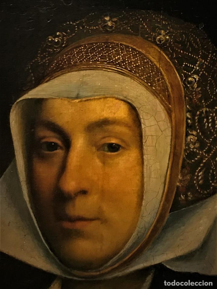 Arte: Impresionante óleo sobre tabla del siglo XVI. Inglés ó flamenco - Foto 9 - 148861658