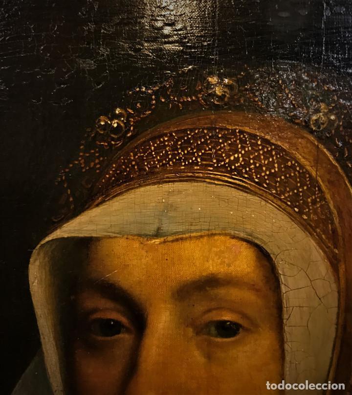 Arte: Impresionante óleo sobre tabla del siglo XVI. Inglés ó flamenco - Foto 10 - 148861658