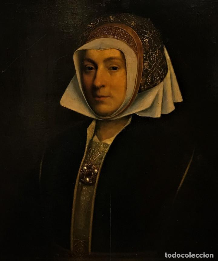 Arte: Impresionante óleo sobre tabla del siglo XVI. Inglés ó flamenco - Foto 11 - 148861658