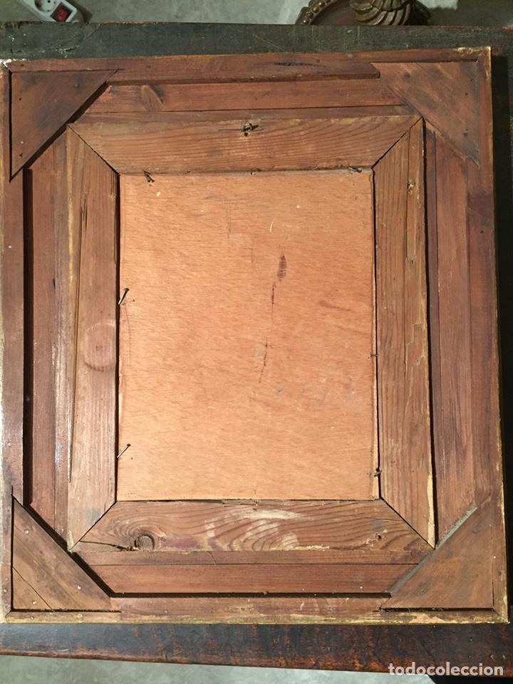 Arte: Pintura sobre cobre de SAN LUIS GONZAGA (1568-1591) S.XIX - Foto 7 - 148904365