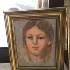 Arte: RETRATO DE MUJER, SEGUIDOR DE LAXEIRO . Lote 148981598