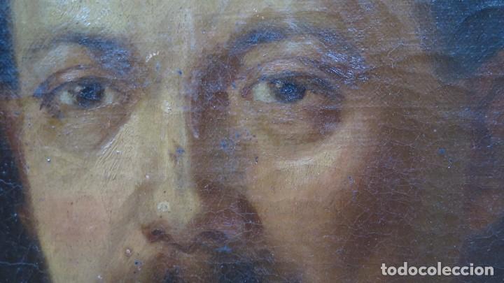 Arte: RETRATO DE CABALLERO. OLEO S/ LIENZO. SEGUNDA MITAD SIGLO XIX. ESC. ESPAÑOLA - Foto 2 - 149244430