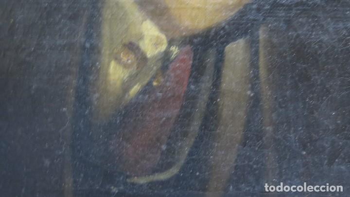 Arte: RETRATO DE CABALLERO. OLEO S/ LIENZO. SEGUNDA MITAD SIGLO XIX. ESC. ESPAÑOLA - Foto 4 - 149244430