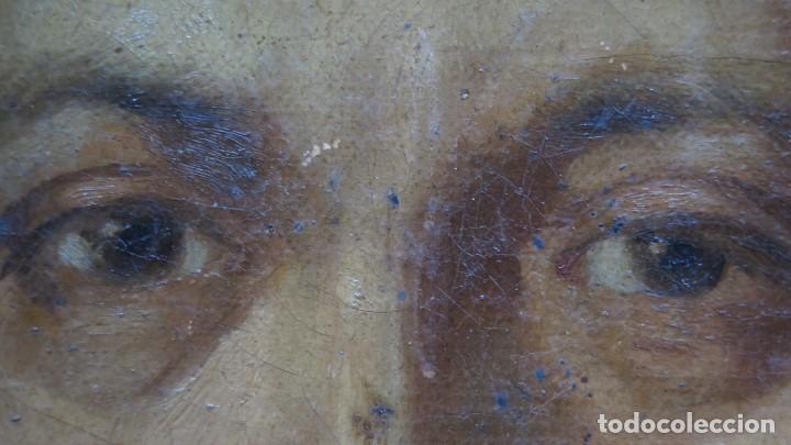 Arte: RETRATO DE CABALLERO. OLEO S/ LIENZO. SEGUNDA MITAD SIGLO XIX. ESC. ESPAÑOLA - Foto 7 - 149244430