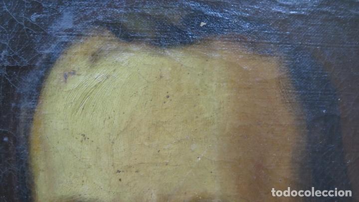Arte: RETRATO DE CABALLERO. OLEO S/ LIENZO. SEGUNDA MITAD SIGLO XIX. ESC. ESPAÑOLA - Foto 9 - 149244430