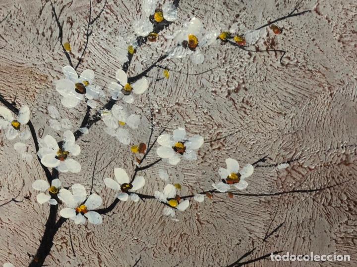 Arte: CUADRO FLORAL SOBRE LIENZO - Foto 2 - 149248916