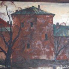 Arte: VICTOR SEVASTIANOV (ODESSA1923_KIEV1993). ÓLEO DE 60X81 ENMARCADO EN 63X83. AÑO 1990.. Lote 149340582
