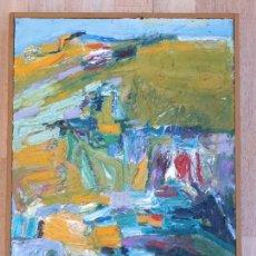Arte: LUNDY SIEGRIEST: GREEN HILLSIDE. FOR SALE. EN VENTA.. Lote 149354326