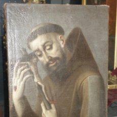 Arte: ESCUELA ESPAÑOLA SIGLO XVII: SAN FRANCISCO PENITENTE. Lote 149398798