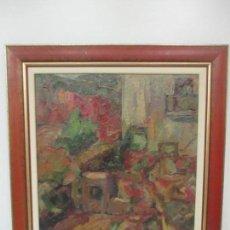 Arte: PINTURA - ÓLEO SOBRE TELA - PAISAJE - FIRMA MANUEL SOLÁ. Lote 149433234