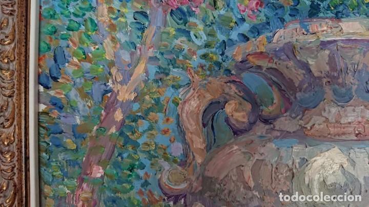 Arte: ÓLEO ESTILO IMPRESIONISTA SOBRE TABLA SERRANOS - Foto 7 - 149472446