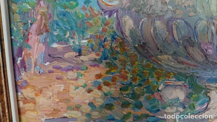 Arte: ÓLEO ESTILO IMPRESIONISTA SOBRE TABLA SERRANOS - Foto 8 - 149472446