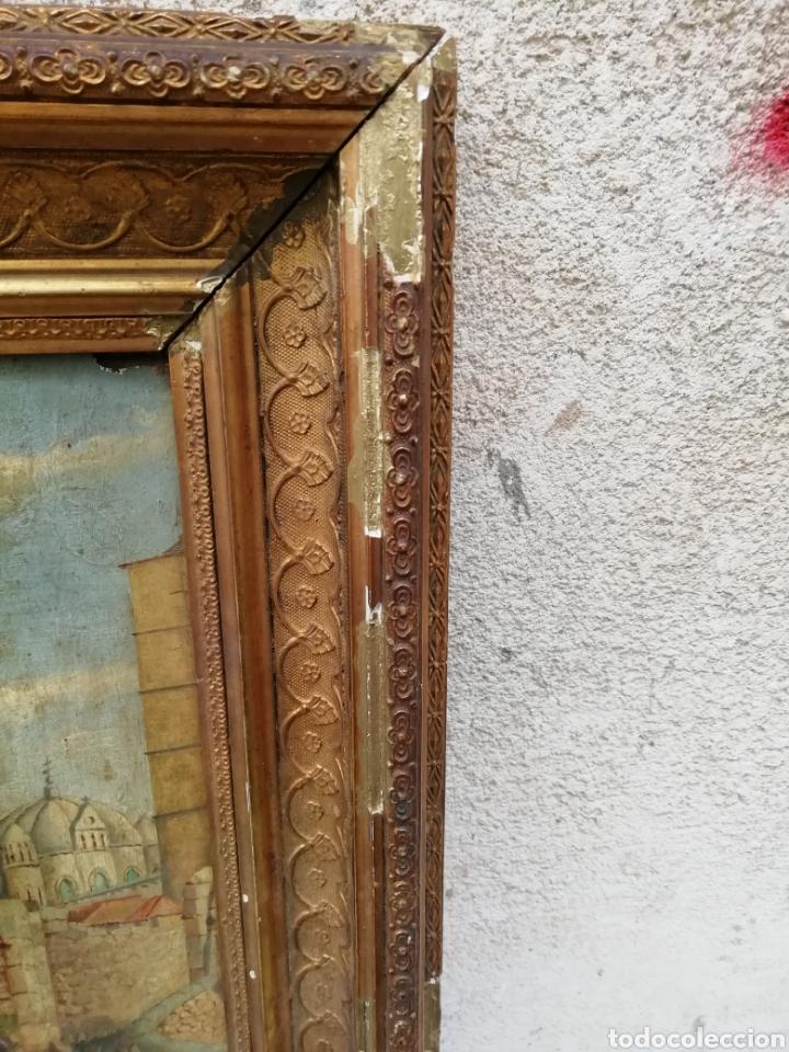 Arte: Pareja de tablas pintadas al óleo - Foto 4 - 149596344