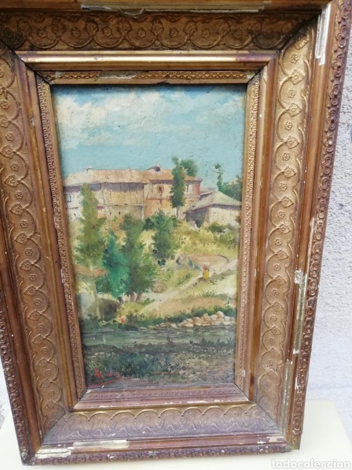 Arte: Pareja de tablas pintadas al óleo - Foto 5 - 149596344