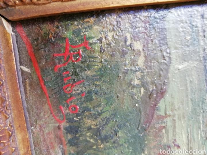 Arte: Pareja de tablas pintadas al óleo - Foto 7 - 149596344