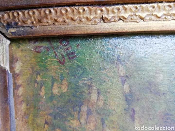 Arte: Pareja de tablas pintadas al óleo - Foto 8 - 149596344