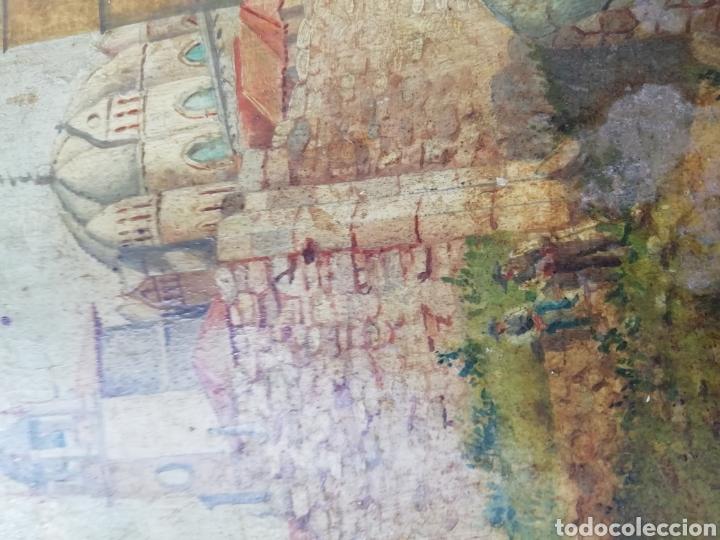 Arte: Pareja de tablas pintadas al óleo - Foto 9 - 149596344