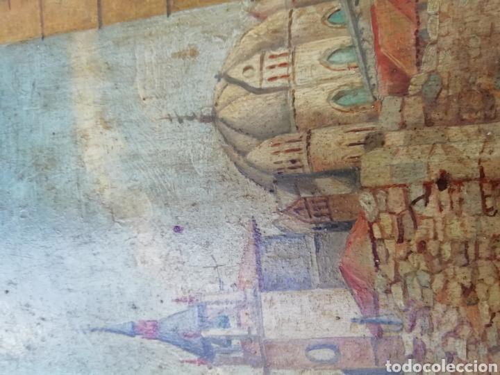 Arte: Pareja de tablas pintadas al óleo - Foto 10 - 149596344