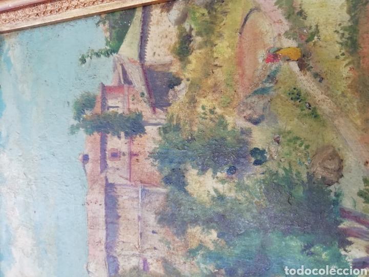 Arte: Pareja de tablas pintadas al óleo - Foto 11 - 149596344