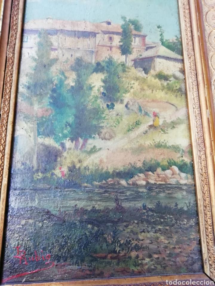 Arte: Pareja de tablas pintadas al óleo - Foto 12 - 149596344