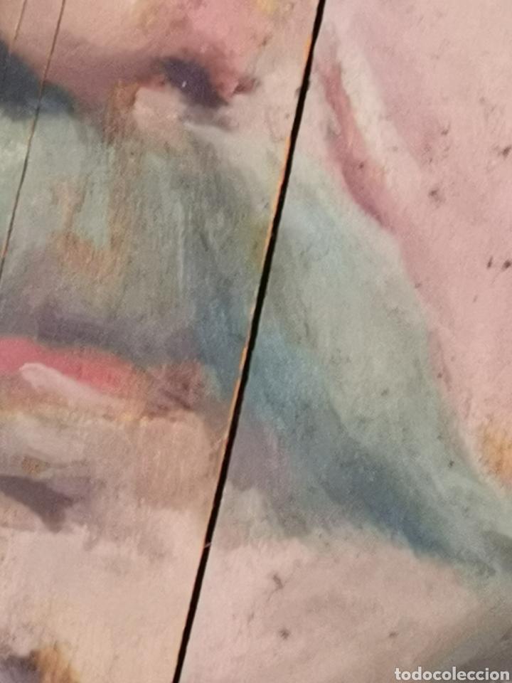 Arte: GUILLEN PEDEMONTI, HELIODORO, 1864-1940, Alicante, oleo sobre tabla, retrato. 36x26 - Foto 6 - 149641261