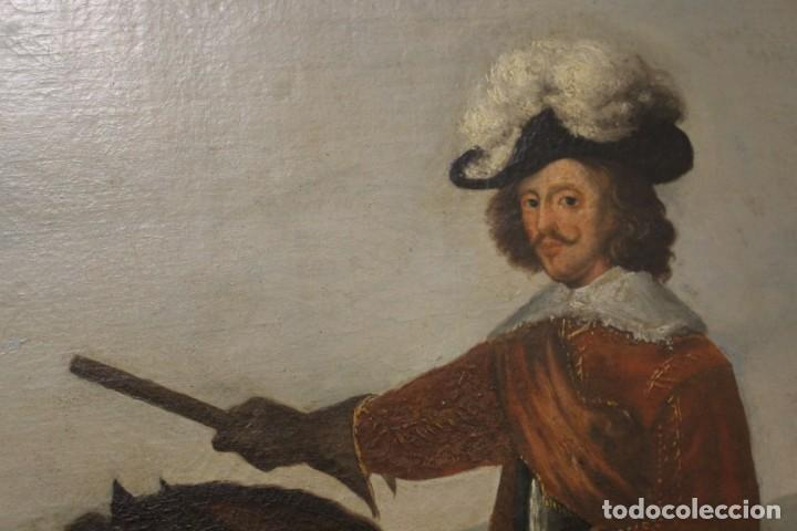 Arte: Gran retrato ecuestre del Cardenal Infante don Fernando de Austria en Nördlingen , siglo XVIII - Foto 2 - 149650182