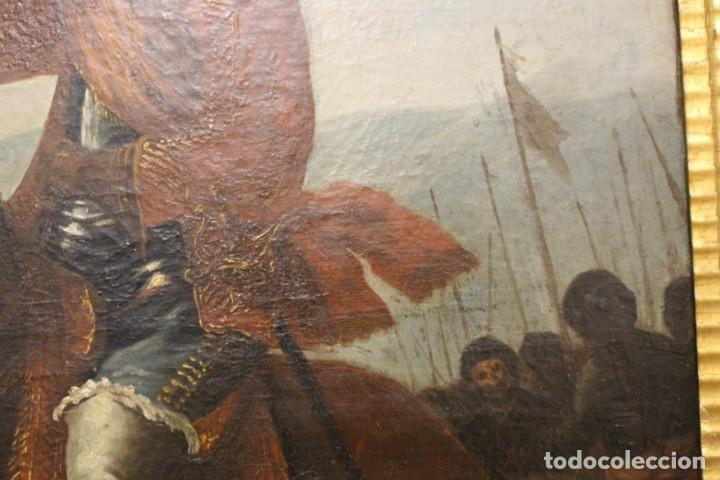 Arte: Gran retrato ecuestre del Cardenal Infante don Fernando de Austria en Nördlingen , siglo XVIII - Foto 11 - 149650182