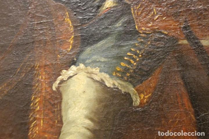 Arte: Gran retrato ecuestre del Cardenal Infante don Fernando de Austria en Nördlingen , siglo XVIII - Foto 12 - 149650182