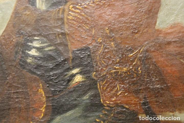 Arte: Gran retrato ecuestre del Cardenal Infante don Fernando de Austria en Nördlingen , siglo XVIII - Foto 13 - 149650182