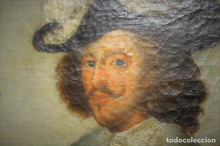 Arte: Gran retrato ecuestre del Cardenal Infante don Fernando de Austria en Nördlingen , siglo XVIII - Foto 18 - 149650182