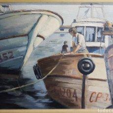 Arte: PORT VINAROZ POR MONTSE RIERA. Lote 149695302